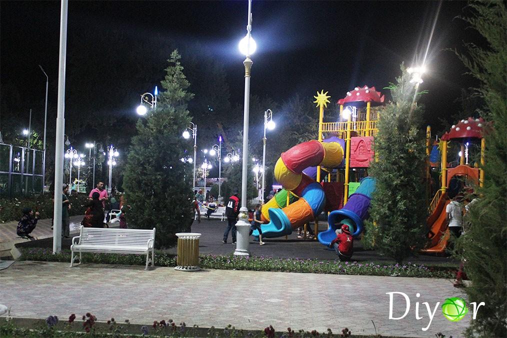 Парк Ахмади Дониш фото