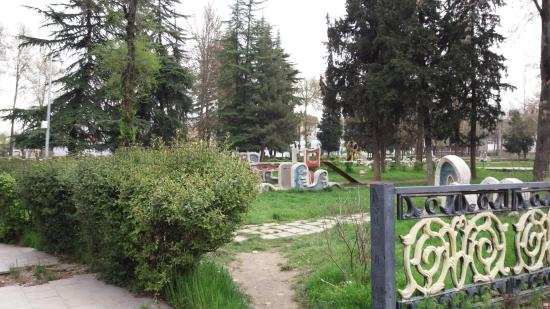 детский парк в душанбе,старые фотографии