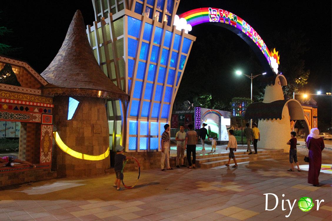 новый детский парк в душанбе