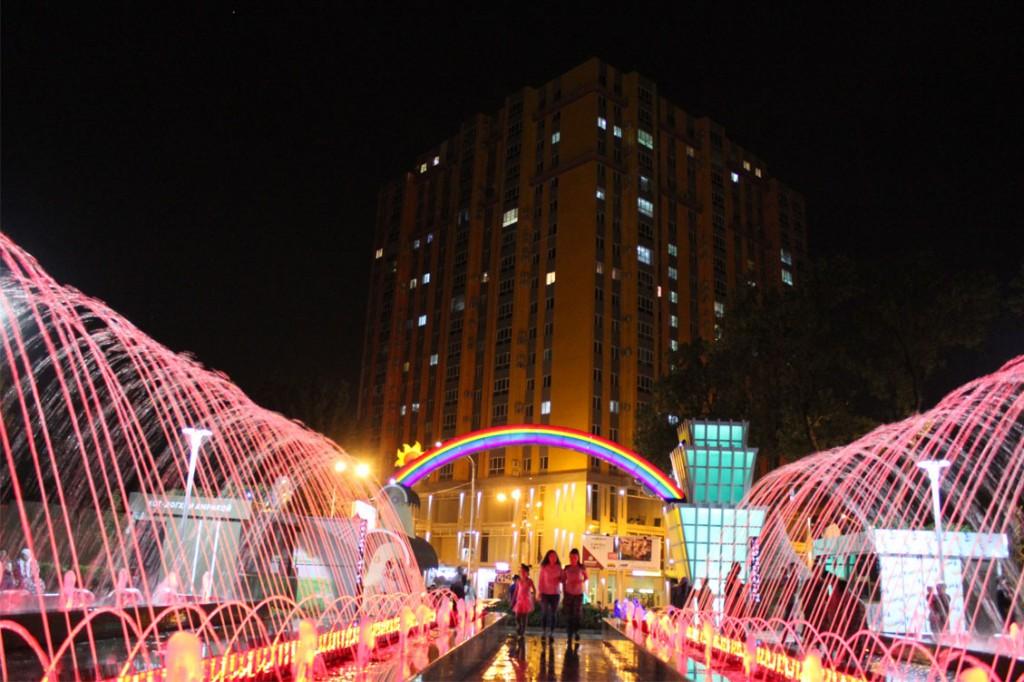 Парк спартак в Душанбе фото