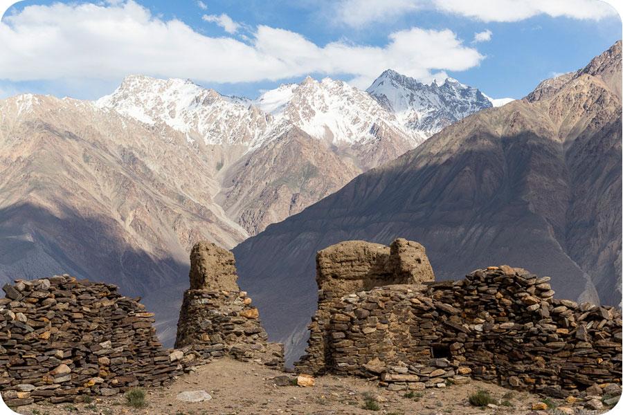 Руины крепости Каахка