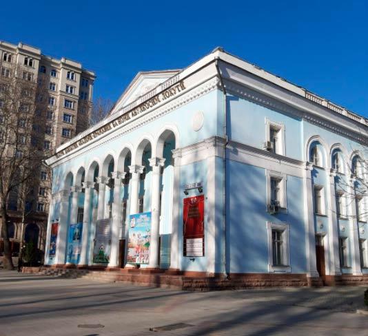театр маяковского душанбе